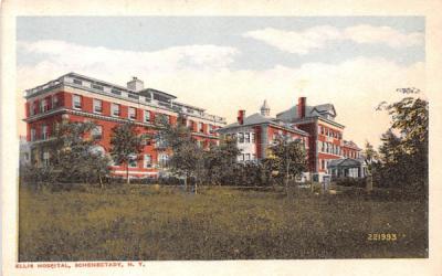 Ellis Hospital Schenectady, New York Postcard
