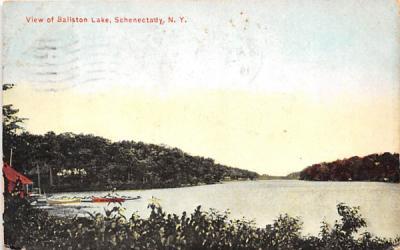 Ballston Lake Schenectady, New York Postcard