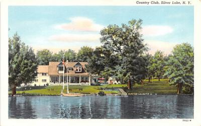 Country Club Silver Lake, New York Postcard
