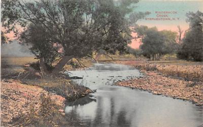 Kinderhook Creek Stephentown, New York Postcard