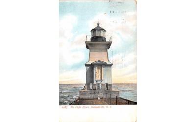 The Light House Summerville, New York Postcard