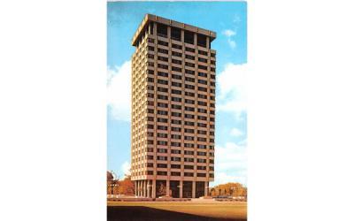 Lawrinson Hall Boys' Dormitory Syracuse, New York Postcard