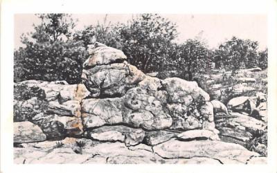 Continuation of the Reff Saratoga Springs, New York Postcard