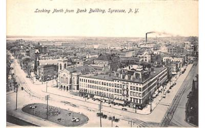 Bank Building Syracuse, New York Postcard