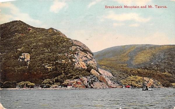 Breakneck Mountain Troy, New York Postcard