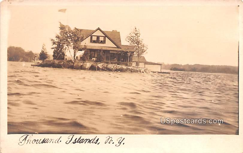 Water View - Thousand Islands, New York NY Postcard