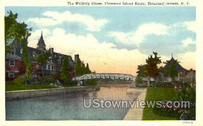 The Wellesly House - Thousand Islands, New York NY Postcard