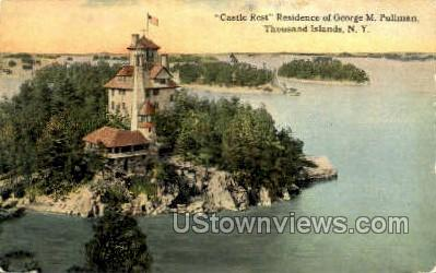 Residence of George M. Pullman - Thousand Islands, New York NY Postcard