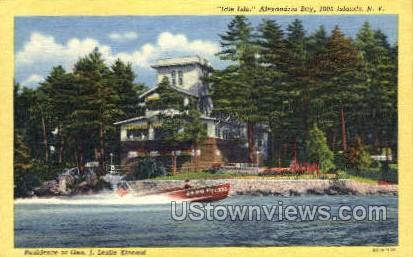 Idle Isle, Alexandria Bay - Thousand Islands, New York NY Postcard
