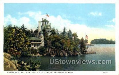Castle Rest, Pullman Estate - Thousand Islands, New York NY Postcard