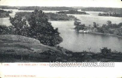 Echo Lodge - Thousand Islands, New York NY Postcard