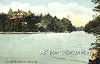 Landons Rift - Thousand Islands, New York NY Postcard