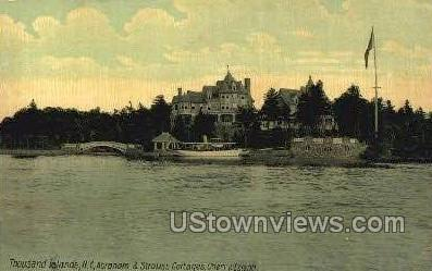 Abraham & Strauss Cottages - Thousand Islands, New York NY Postcard