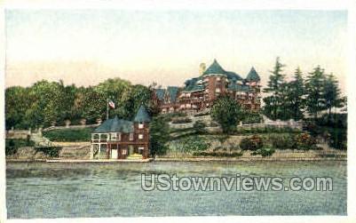 Hopewell, Summer Home - Thousand Islands, New York NY Postcard