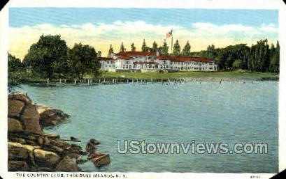 Country Club - Thousand Islands, New York NY Postcard