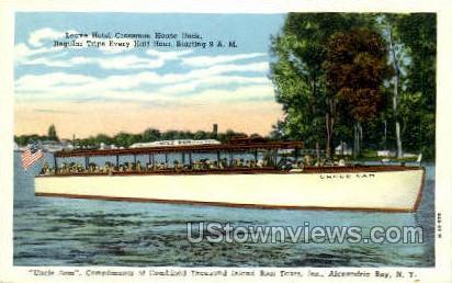 Thousand Island Boat Tours, Inc. - Thousand Islands, New York NY Postcard