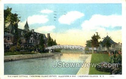 Alexandria Bay - Thousand Islands, New York NY Postcard