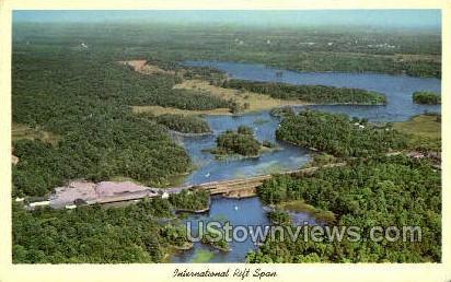 International Rift Span - Thousand Islands, New York NY Postcard