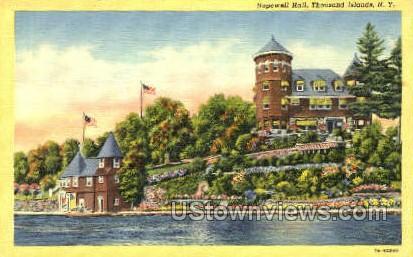 Hopewell Hall - Thousand Islands, New York NY Postcard