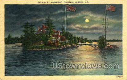 Zavikon - Thousand Islands, New York NY Postcard