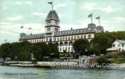 Thousand Island House - Thousand Islands, New York NY Postcard