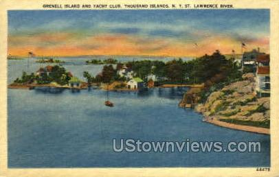 Grenell Island - Thousand Islands, New York NY Postcard