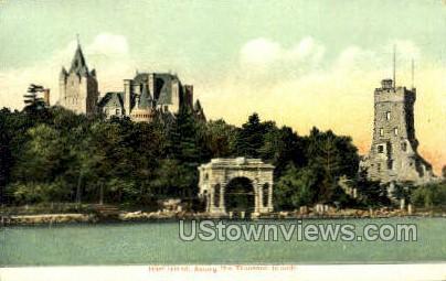 Hart Island - Thousand Islands, New York NY Postcard