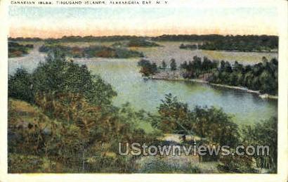 Canadian Isles - Thousand Islands, New York NY Postcard