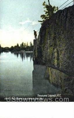 Devil's Oven, Alexandria Bay - Thousand Islands, New York NY Postcard