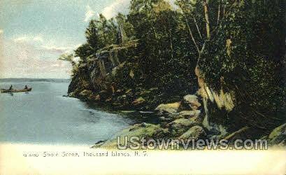 Thousand Islands, New York, NY Postcard