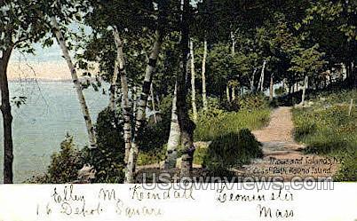 Round Island - Thousand Islands, New York NY Postcard