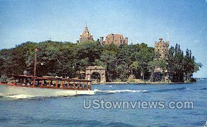 Heart Island - Thousand Islands, New York NY Postcard