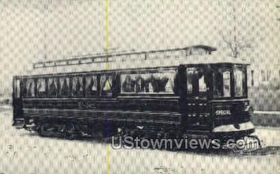 Elmlawn Funeral Car - Buffalo, New York NY Postcard