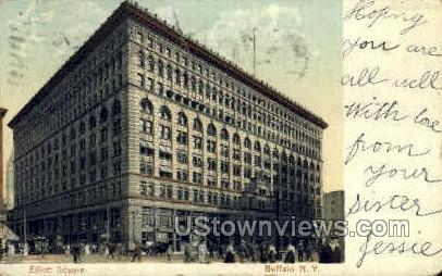 Elliott Square - Buffalo, New York NY Postcard