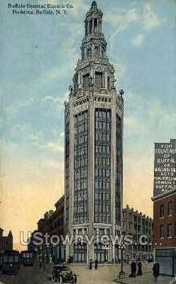 Buffalo General Electric Co - New York NY Postcard