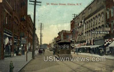 Elmira, NY, New York Postcard