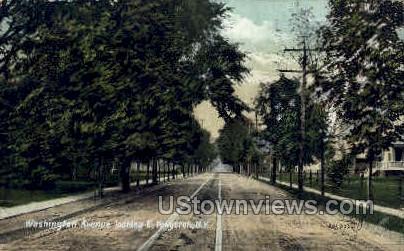 Washington Street - Kingston, New York NY Postcard