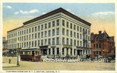 Dickinson House - Corning, New York NY Postcard