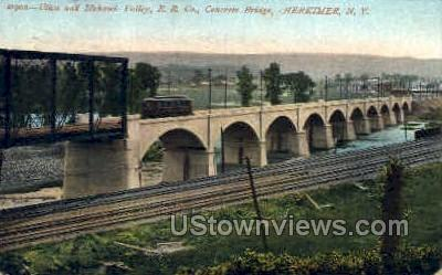 Utica and Mohawk Valley - Herkimer, New York NY Postcard