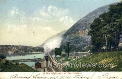 Highlands of the Hudson - New York NY Postcard