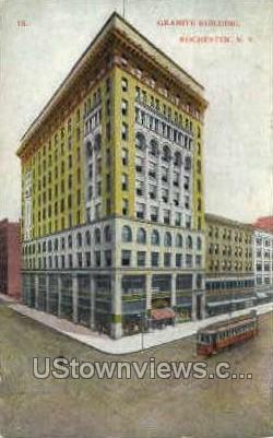 Granite Building - Rochester, New York NY Postcard