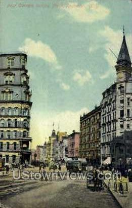 Four Corners - Rochester, New York NY Postcard