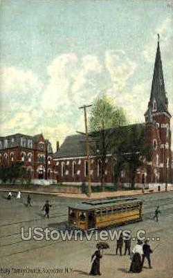 Holy Family Church - Rochester, New York NY Postcard