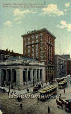 National Bank of Rochester - New York NY Postcard