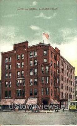 Imperial Hotel - Niagara Falls, New York NY Postcard