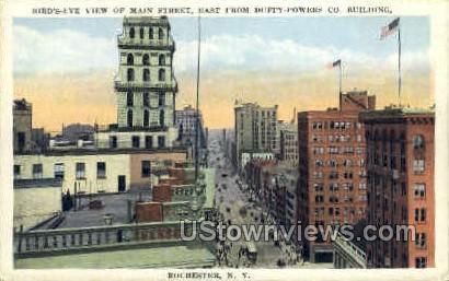 Main Street - Rochester, New York NY Postcard