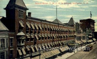 Osburn House Y.M.C.A - Rochester, New York NY Postcard