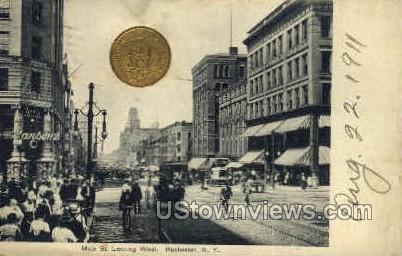 Rochester, NY, New York Postcard