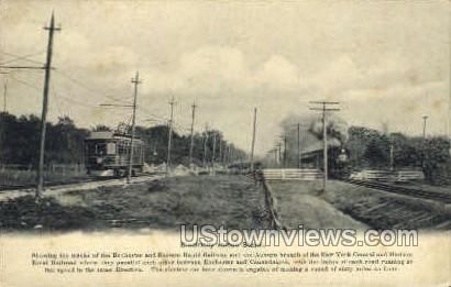 Rapid Railway - Rochester, New York NY Postcard