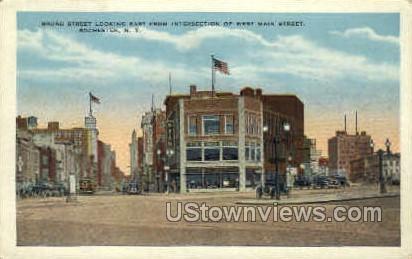 Broad Street - Rochester, New York NY Postcard